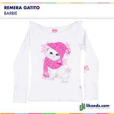 Remera Gatito de Barbie. Para conocer talles, colores y comprar ¡Hacé click en la imagen!