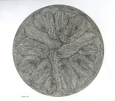 """Henry Pearson. 5 5/8"""" CIRCLE NUMBER 6. 1961"""