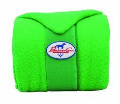 Lime green polo wraps <3