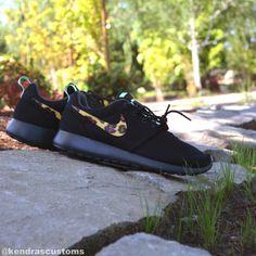 Roshe Leopard Custom Made to Order Womens Nike by krtkendra, $140.00