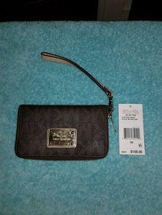 Michael Kors Jet Set LG Coin MF PHN Case #MichaelKors #Wristlet