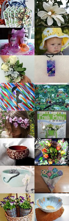 April Showers Bring May Flowers by Nelly on Etsy--Pinned with TreasuryPin.com