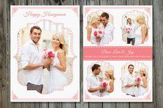 Digital Psd Flat Card for Photographer  Wedding by TemplateStock