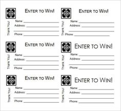 Printable Raffle Ticket Template Free Print Raffle Tickets Using A Template In Office Word 2016  F.y.i .