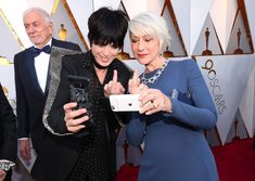 The Best Candid Backstage Moments at the 2018 Oscars - HarpersBAZAAR.com