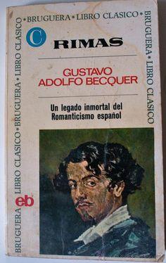 Lo tengo!!!! RIMAS, GUSTAVO ADOLFO BECQUER (BRUGUERA LIBRO CLÁSICO, 1970) 25 PTAS.