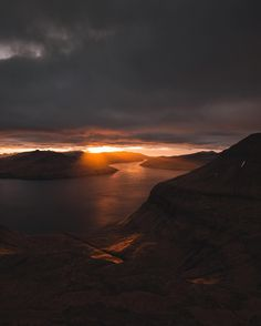 @benjaminhardman here! On my last night in the Faroes I saw a mountain road off in the distance and decided to explore it. I found this view over the ridge at the top and it completely blew my mind. #faroeislands   #visitfaroeislands by visitfaroeislands