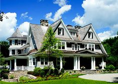 Double Gabled Home with Veranda