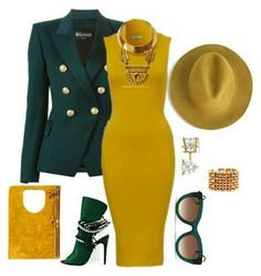 A fashion look from September 2015 by featuring Balmain, Allurez, Bita Pourtavoosi, Thierry Lasry and Tom Ford Classy Outfits, Stylish Outfits, Fall Outfits, Fashion Outfits, Womens Fashion, Fashion Trends, Fashion Tips, Mode Chic, Mode Style