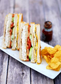 Chicken Club Sandwich via @mariasmenu