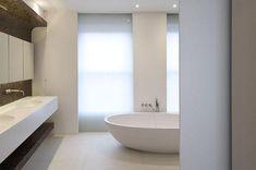 McLean Quinlan, minimalist bathroom with translucent panels,Remodelista