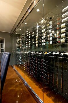 Cold Craft - Heating and Air Conditioning - Cold Craft, Inc. is a trusted residential cooling and heating contractor since 1991 in the South Bay. Glass Wine Cellar, Home Wine Cellars, Wine Shelves, Wine Storage, Caves, Wine Cellar Basement, Whiskey Room, Wine House, Wine Display