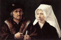 Ян Госсарт (Gossaert), по прозванию Мабюзе (1479—1541) — Пожилая пара (1510-1528, National Gallery, London)