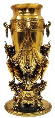 Gilded Urn