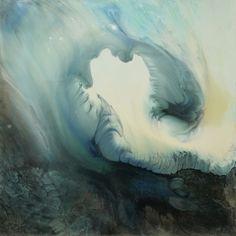 "Saatchi Online Artist: Lia Melia; Mixed Media, 2012, Painting ""Songs of Melusina 4"""