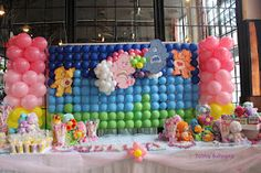 Tubby Balloonz' Grand Display and Columns www.Facebook.com/tubbyballoonz