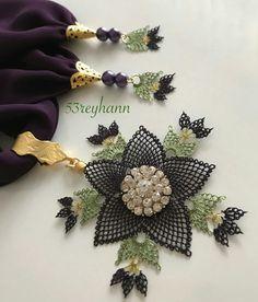 Scarf Jewelry, Needle Lace, Decoration, Elsa, Needlework, Diy And Crafts, Jewels, Knitting, Handmade