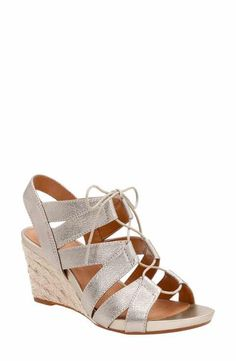 132bcd0fdecb Clarks® Acina Chester Wedge Sandal (Women) Clarks Sandals