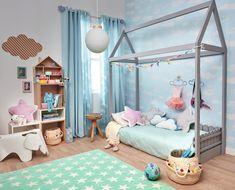 Ellos también disfrutan decorando. Una habitación de cuento como esta. ¿Qué te parece? Leroy Merlin #leroymerlin