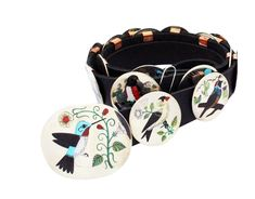 Nancy, Ruddell Laconsello, Concho Belt, Birds, Inlay, Zuni Handmade, 17 Pieces Different Birds, Concho Belt, Branded Belts, American Indian Jewelry, Native American Indians, Handmade Art, Wearable Art, Vibrant Colors, Baby Shoes