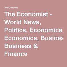 The Economist - World News, Politics, Economics, Business & Finance