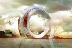 The Dutch Windwheel is not only a silent wind turbine – it's also an incredible circular apartment building