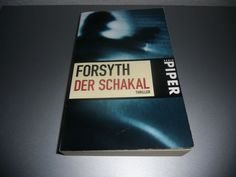 Frederick Forsyth-Der Schakal 1998 Thriller Taschenbuch Piper Serie