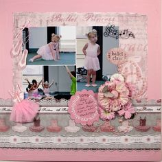 Ballet Princess - Scrapbook.com