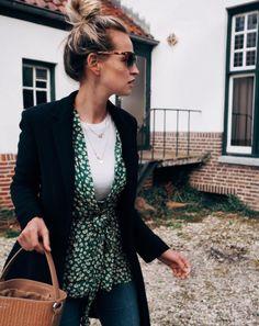 Ganni street style | Anouk Yve | Dalton Crepe Kimono