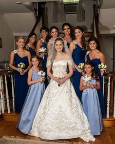 #Grecianstyle wedding party.  Makeup by Barbara & Allison / Hairstyling by Jacinda & Shaunda.