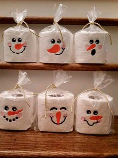 Best 12 Need something for that White Elephant gift or a gag gift for a friend or relative? Here is just the thing! Cute little snowmen faces embroidered on toilet paper. It will we the talk of the bathroom! Choose the face you want from the style box. Grinch Christmas Decorations, Homemade Christmas Gifts, Christmas Activities, Christmas Crafts For Kids, Christmas Projects, Simple Christmas, Holiday Crafts, Christmas Holidays, Christmas Ornaments