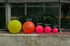 Infographics For The Crafty: Data Visualizations Using Household Objects | The Creators Project