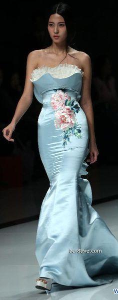 China Fashion Week - Zhang Zhifen - NE Tiger Chinese inspired fashion