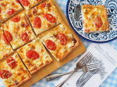 Takana, Swedish Recipes, Feta, Mozzarella, Sandwiches, Good Food, Curry, Food And Drink, Pizza
