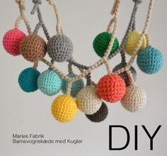 DIY // Barnevognskæde med kugler // Opdateret - MARIES FABRIK