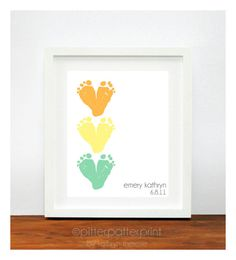 Gift for New Grandparents  Personalized by PitterPatterPrint, $35.00