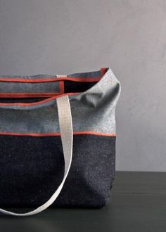 Favorite Totes in Denim with Colored Motes   Purl Soho - Create