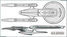 U.S.S Excelsior NX-2000 (J.J Abrams  Alternate  Universe )