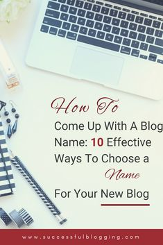 Before you dive head-first into the world of wordsmithing and choosing a name for your blog, it's worth taking a moment to think about just what your blog name is going to represent.  What is your blog going to be about? Who is your target audience? What is the tone/voice of your blog going be like? Will you be building your brand around your blog name? Instagram Names, Instagram Tips, Promotion Strategy, Network Marketing Tips, Social Media Quotes, Blog Names, Blog Love, Build Your Brand, Target Audience