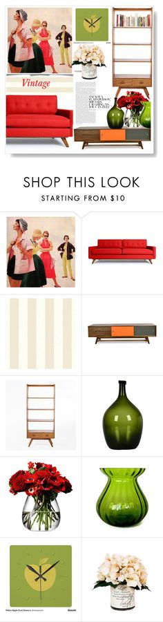 """""""Vintage.."""" by gul07 ❤ liked on Polyvore featuring interior, interiors, interior design, home, home decor, interior decorating, Thrive, Control Brand, LSA International and Creative Displays"""