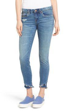 Main Image - BLANKNYC The Classique Crop Skinny Jeans (App Happy)