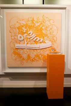 You know you've made it as a brand when your #sneakers have their own art exhibition!