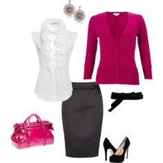 Wish I could wear something like this to work...it's just not practical.