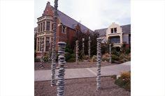"""Te Paepaetapu O Rakaihautu"" by Chris Booth (1997), location Lincoln University, Canterbury, NZ"