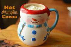 Hot Pumpkin Cocoa for Kids | Healthy Ideas for Kids