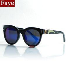 Encontrar Más Gafas de Sol Información acerca de Moda Vintage diseñador de la marca mujeres forma redonda de la alta calidad gafas de sol hombre mujer gafas gafas de sol S248, alta calidad mp3 gafas de sol, China gafas de sol sin montura Proveedores, barato tarjeta de gafas de sol de Faye Glasses en Aliexpress.com