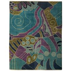 French Art Deco Rug. Circa 1940