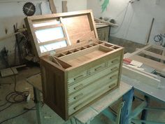 woodworkers tool chest - by Marek @ LumberJocks.com ~ woodworking community