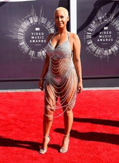 Эмбер Роуз, вручение наград MTV - 2014