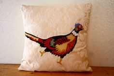 Geometric Pheasant, www.ByeBrytshi.com. Love this, reminds me of   'The Famous Grouse'! :)